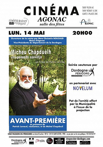 Projection Film de Patrick Lavaud,