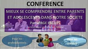 Conférence sur le thème Verticalité contre Horizontalité : 'Mieux se comprendre entre parents et adolescents dans notre société'