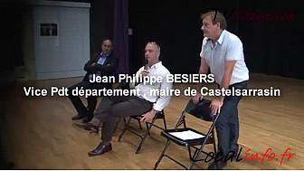 Thierry Hamelin candidat Divers Gauche sur la 2ème circo du Tarn-et-Garonne tenait meeting Castelsarrasin le 8 juin 2017