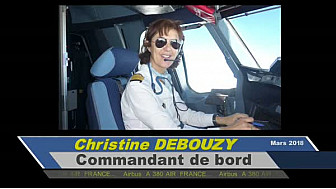 Christine Debouzy pilote airbus A380 #aviation #femmes #pilote #affp #tvlocale.fr