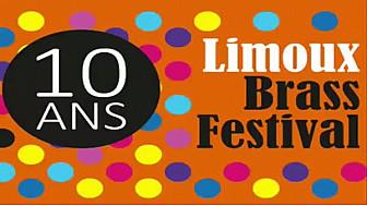LIMOUX BRASS FESTIVAL 10 ANS #limoux  #brass #festival #audetourisme  #tvlocale.fr