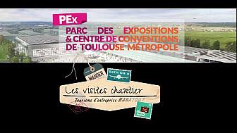 Le PEX : futur parc des expos Toulouse #Pex #Toulouse Métropole #occitanie #manatour #tvlocale.fr