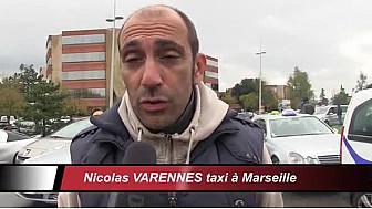 Manifestation des taxis Blagnac-Toulouse#taxi #TaxisLégaux