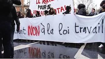 #greve9mars : Loi travail #ElKhomri, les Toulousains battent le pavé ... @Tvlocale_fr #Toulouse