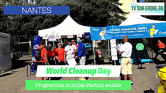 World Cleanup Day à Nantes #journéeinternationale #journéemondiale #nettoyonslaplanète #nantes