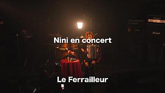 Nini Poulain en Concert #Leferrailleur #Nantes