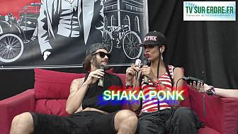Interview Shaka Ponk #lanuitdelerdre #musique #festival #electro #rock @Samahamusic