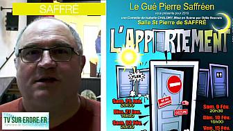 L'appartement :  La Nouvelle Comédie de la Troupe Le Gué Pierre saffréen
