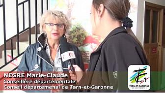 Mme NEGRE Marie-Claude, conseillère départementale de Tarn-et-Garonne.
