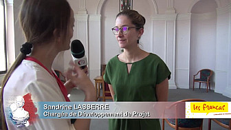 Portrait de Sandrine Lasserre, chargée de développement Tarn-et-Garonne et Lot, Francas 82