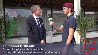 Jeunes reporters : Inauguration école et terrains multisports à Lacourt-Saint-Pierre - 82 @ChristianAstruc @Prefet_82 @tarnetgaronneCG
