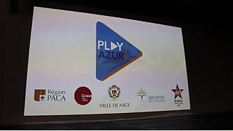 Présentation du Play Azur Festival @Playazur @villedenice