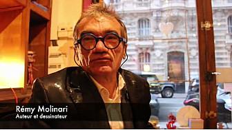 Séance de dédicace avec Rémy Molinari