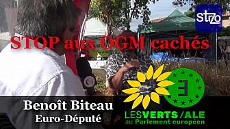 Benoît Biteau nous parle de OGM Cachés dans environ 30% des variétés produites en France malgré l'interdiction qui date de 2008 @BenoitBiteau @EELV @J_Denormandie @euroecolos #OGM