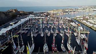 Jusqu'au départ le 4 novembre, le village de la Route du Rhum 2018 à Saint Malo vous attend. @routedurhum 