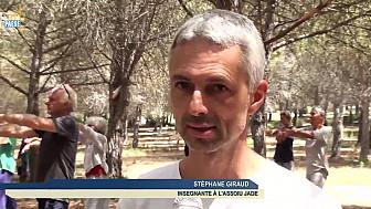 Télé Paese Corsica: Relaxation et respiration au programme du stage de Qi Gong à l'Osari