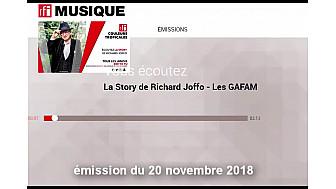 La Story de Richard Joffo sur RFI - Les GAFAM et le Moteur de Recherche Qwant  @Smartrezo @Qwant_FR