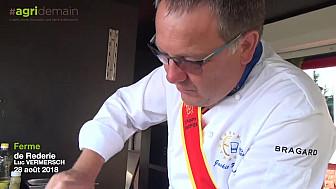 #AgridemainTour, étape 2... chez Luc VERMERSCH, ferme le Rederie à Ville-le-Marclet @TVdeschefs #Smartrezo
