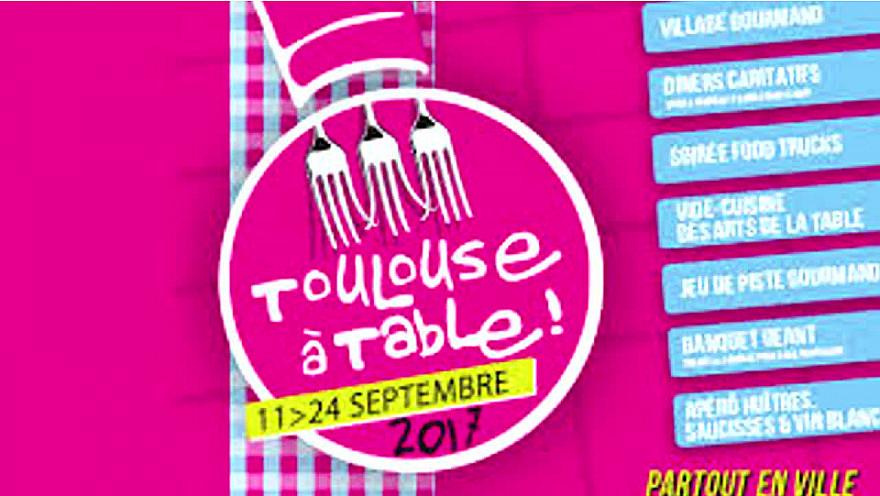 Festival Toulouse à Table 2017: Soirée de lancement de la 4ème Edition avec Jean-Luc Moudenc et Carole Delga @Toulouseatable