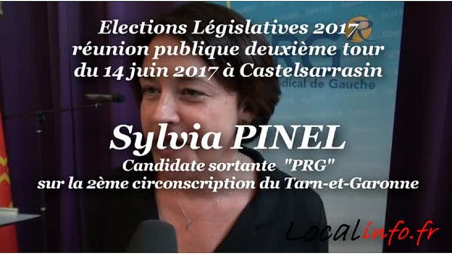Meeting d'entre deux tours de Sylvia PINEL candidate sortante en Tarn-et-Garonne sur la 2ème circonscription @SylviaPinel @JMBaylet