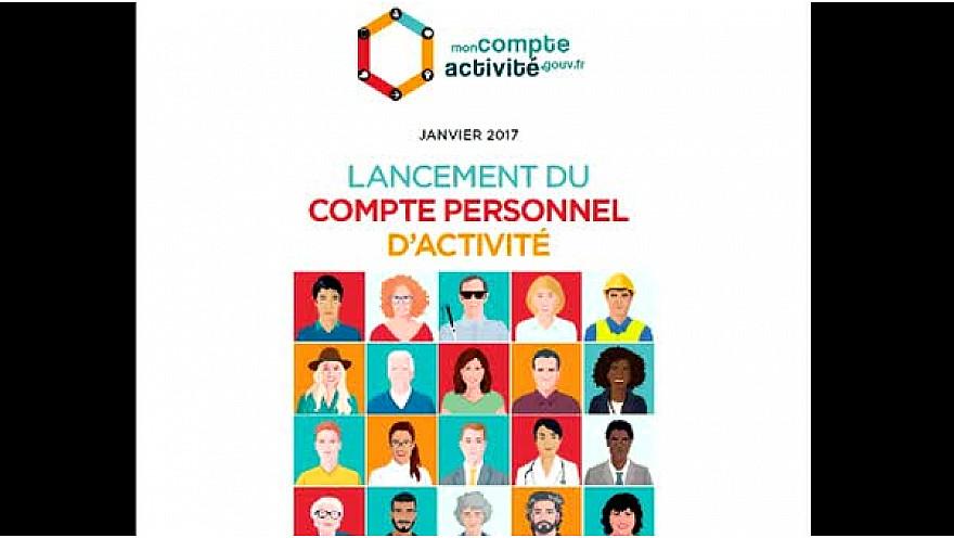 Le portail du compte personnel d'activité #CPA a été ouvert en janvier 2017.