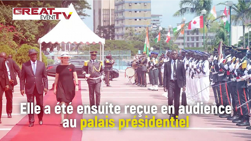 Tournée africaine: Visite de la Gouverneure Générale du Canada en Côte d'Ivoire