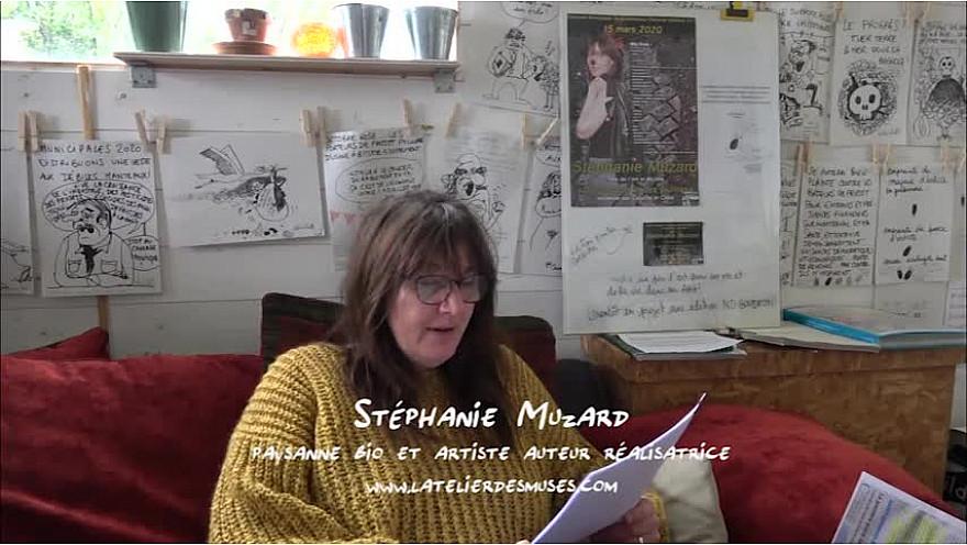 Droit de réponse poétique de Stéphanie Muzard, créations originales liste 'Du goudron et des plumes'