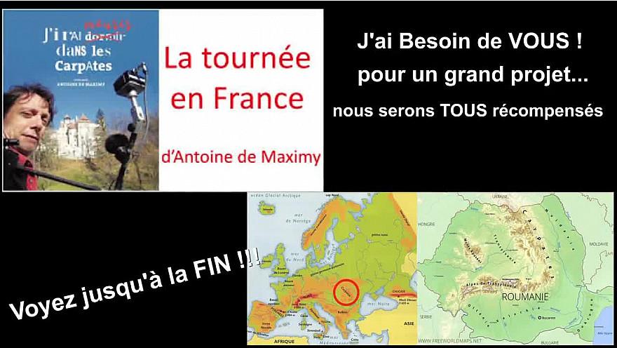 Antoine de Maximy à Toulouse #jidcv #voyager #travel #cinema #tvlocale.fr