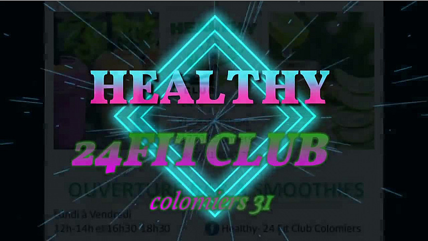 Healthy-24 Fit Club Colomiers· #smoothie  #healthy fitness #colomiers #sport #tvlocale.fr
