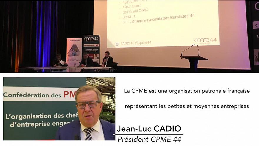Assemblée Générale CPME 44 @cpme44 @loireatlantique @nantes @professionnels @entrepreneurs@rencontres@dirigeants
