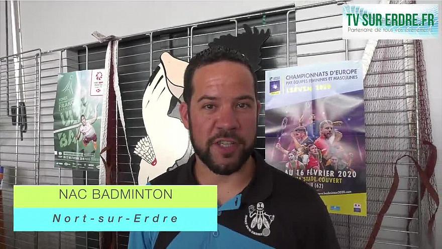 Le Forum des associations NAC BADMINTON #nortsurerdre @interview @sport