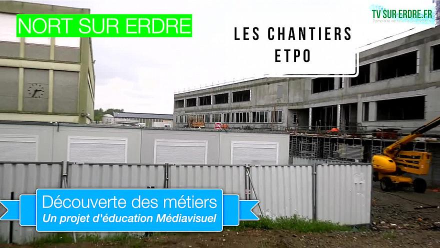 Jeunes Reporters Formation Média: les reporters du Collège Paul Doumer de Nord-sur-Erdre visitent le chantier d'ETPO