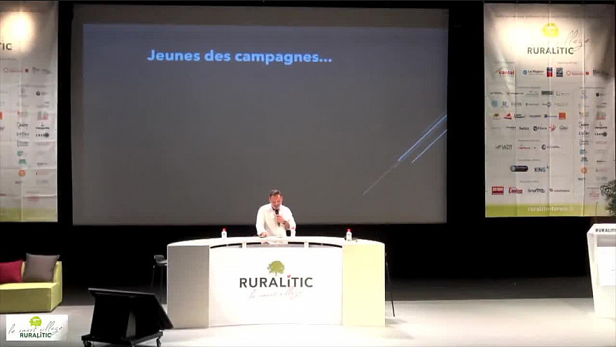 Tv Locale Ruralitic sur Smartrezo : Jeunes des campagnes
