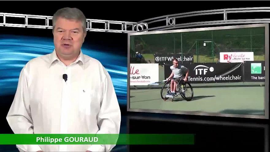 Présentation de la 24ème édition de l'Open de Vendée Tennis Fauteuil - TV 3 Provinces