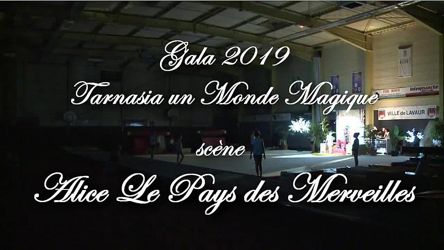 Gala 2019 de la Tarnaise Gym: Scène 6 Alice le Pays des Merveilles
