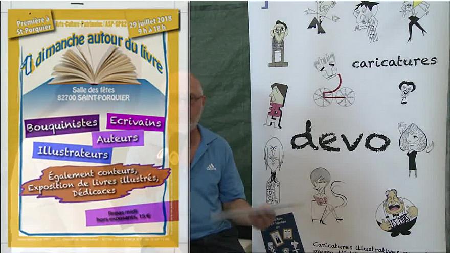 Francine Debiais nous présente la première édition de Dimanche Autour du Livre à Saint-Porquier en @tarnetgaronneCG