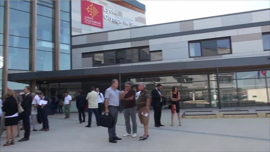 Inauguration du Lycée Olympe de Gouges à Montech @Occitanie @tarnetgaronne_CG @Smartrezo