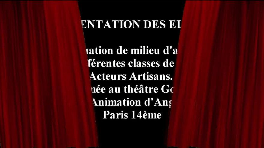 École Acteurs Artisans : Classe de Daniel Martin et Héloïse Manessier
