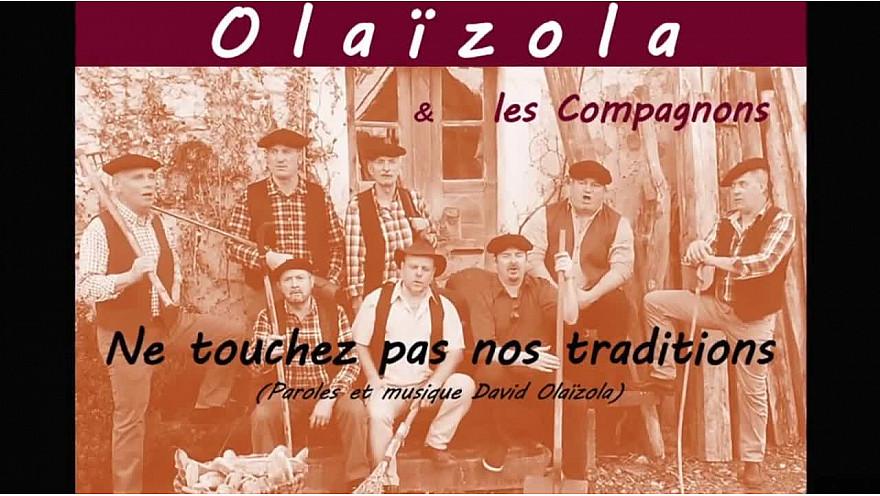 TRADITIONS = RACINES : David Olaïzola écrit, compose et chante pour les Traditions de sa Région mais pas que...