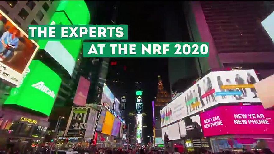 NRF 2020 NYC :  First debreifing de  Guillaume Rio et Nicolas Diacono au @NRFBigShow @nincoroby @Guillaume_Rio @Echangeur