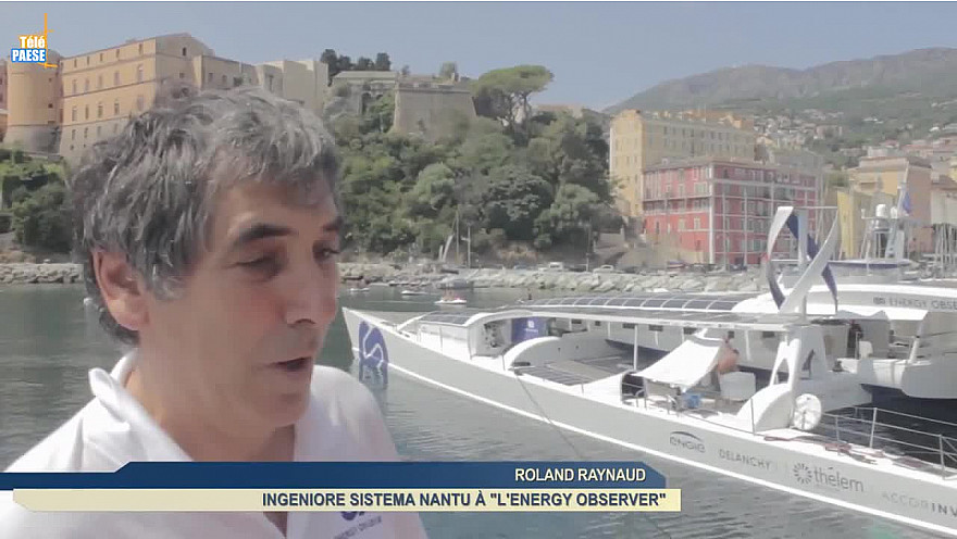 L'Energy Observeur fait escale à Bastia @energy_observer