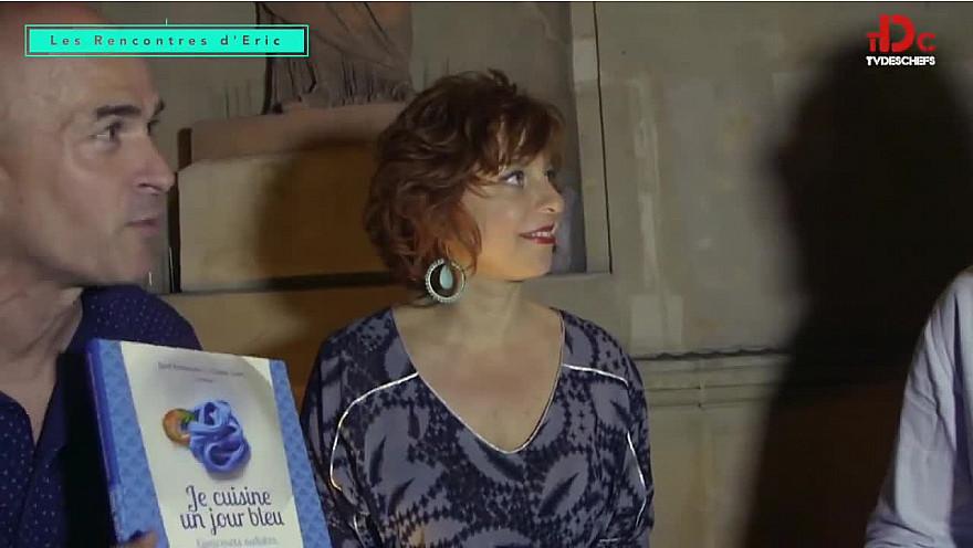 TVdesChefs Les rencontres d'Eric Episode8: Tous en bleu face à l'autisme autour du livre Je cuisine un Jour bleu  de Josef Schovanec et Claude Carat. @TVdeschefs @Smartrezo