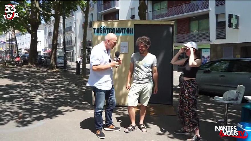 Nantes & Vous TV : Découvrez le plus petit théâtre au monde !