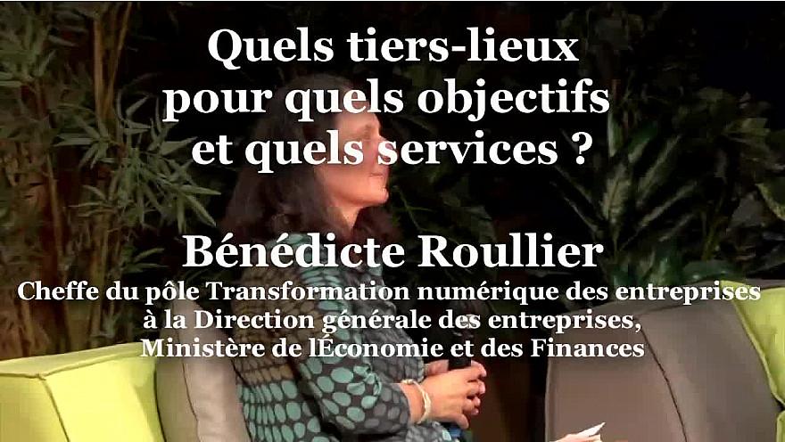 Bénédicte Roullier, de la Direction générale des entreprises, Ministère de l'Économie et des Finances à Ruralitic 2020 @cantalauvergne @juliette_jarry @auvergnerhalpes @MTN_cote  @roullierb @francenumfr