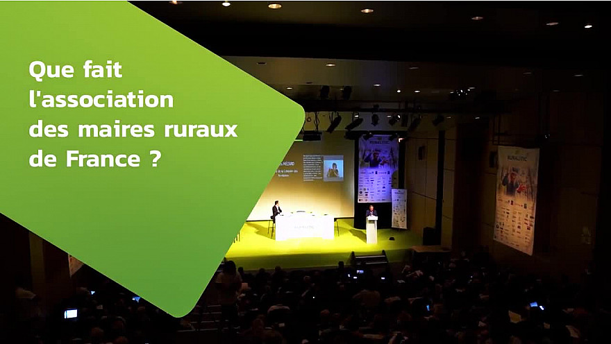 RuraliTIC 2018 ; interview de John Billard, Maire de Le Favril, Vice-Président de l'AMRF @RURALITIC2019 @Maires_Ruraux