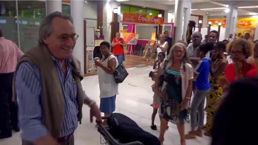 Télé Guadeloupe Smartrezo : Philippe Lavil parrain du Drépaction 5  la Lutte contre la Drépanocytose en Martinique. #dépanocytose #maladie @Drepaction @JHippocrate