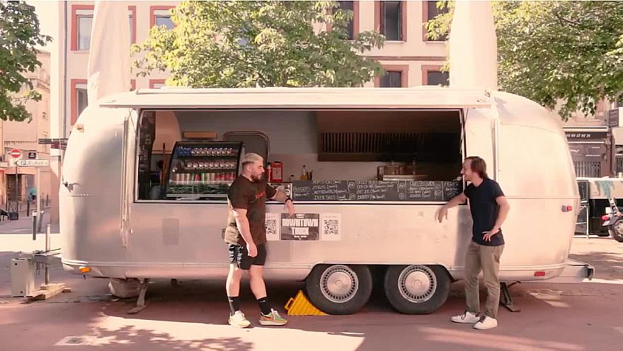 'Demain en Rôse' - Downtown Truck @Toulouse