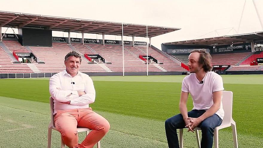 'Demain en Rôse' - Avec Didier Lacroix Président du Stade Toulousain @didierlacroixx @Toulouse @StadeToulousain